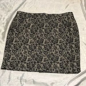 Dress Barn lace lined skirt new w/o tag!